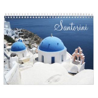 Santorini Griechenland Kalender