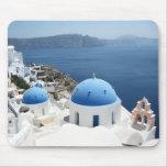 Santorini Griechenland Mauspads