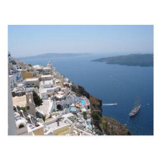 Santorini Griechenland Postkarte