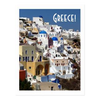 Santorini, Griechenland Postkarte