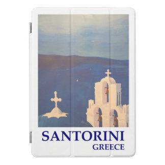 Santorini Griechenland Retro Plakat iPad Pro Cover