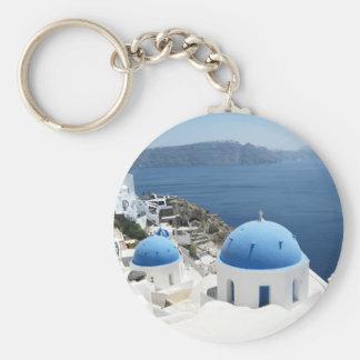 Santorini Griechenland Schlüsselanhänger