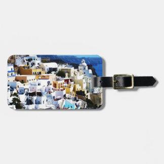 Santorini Insel in Griechenland-FOTO Gepäckanhänger