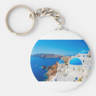Santorini Insel - Kessel, Griechenland Schlüsselanhänger