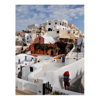 Santorini Insel (Thira), Griechenland Postkarte