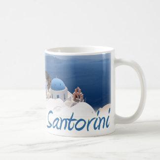 Santorini Kaffeetasse
