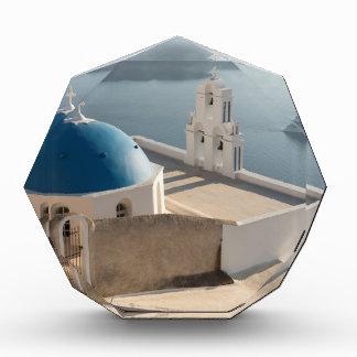 Santorini Kirche, Griechenland Acryl Auszeichnung