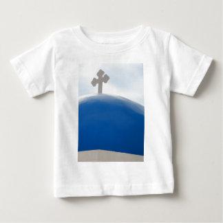 Santorini Kreuz am Nachmittag Sun Baby T-shirt