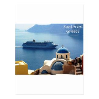 Santorini_Oia Postkarte