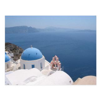 Santorini Postkarte