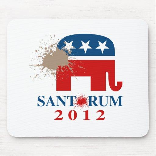 Santorum 2012 mauspad