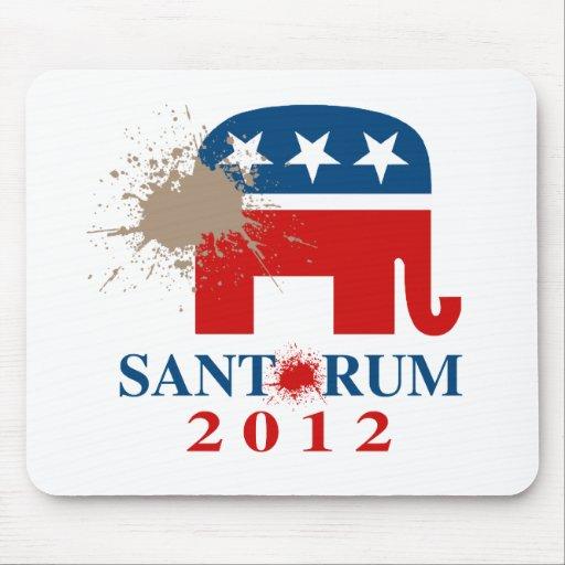 Santorum 2012 mousepad