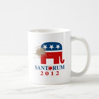 Santorum 2012 kaffeetassen