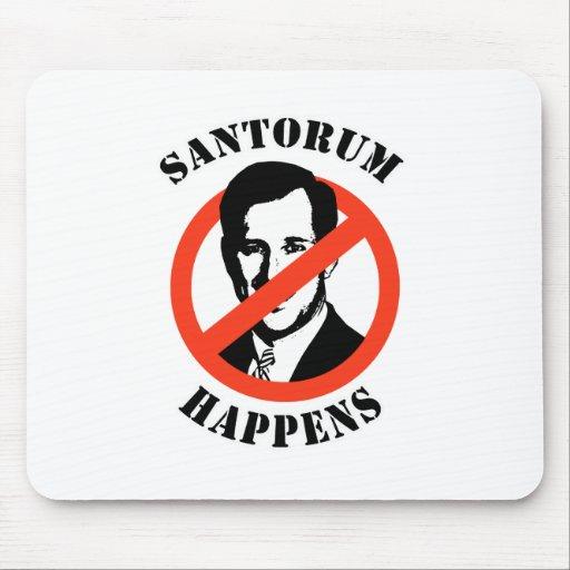 Santorum geschieht mauspad