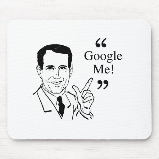 Santorum Zitat - Google ich Mousepad