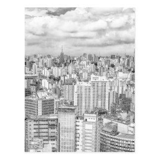 Sao-Paulo, Brasilien Postkarte