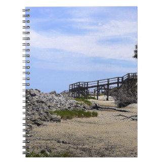 Sapelo Insel-Strand Notizblock