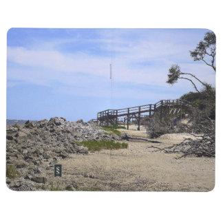 Sapelo Insel-Strand Taschennotizbuch