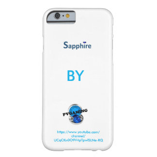 Saphir durch PVGAMING iPhone 6/6s Fall Barely There iPhone 6 Hülle