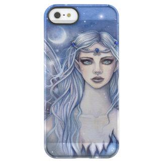 Saphir-feenhafte Fantasie-Kunst Permafrost® iPhone SE/5/5s Hülle