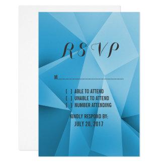 Saphir-Juwel tont Hochzeit UAWG Karte 8,9 X 12,7 Cm Einladungskarte