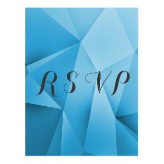 Saphir-Juwel tont Hochzeit UAWG Postkarte