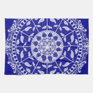 Saphir-Mandala Handtuch