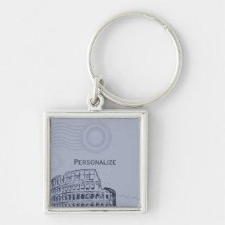 Saphir römisches Keychain Schlüsselanhänger
