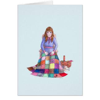 Saphir - September-Geburtstag für sie Karte