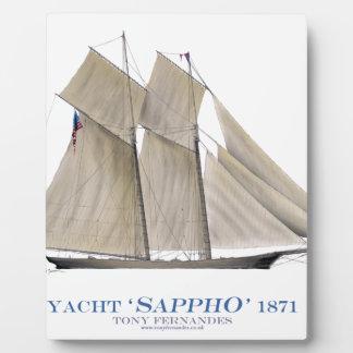 Sappho 1871 fotoplatte