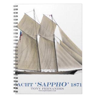 Sappho 1871 notizblock