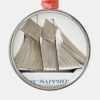 Sappho 1871 silbernes ornament