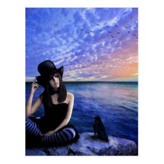 Sara-Dichter meiner Herz-Postkarte Postkarte