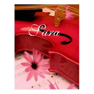 Sara Postkarte