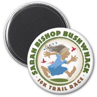 Sarah-Bischof Bushwhack Magneten Runder Magnet 5,7 Cm