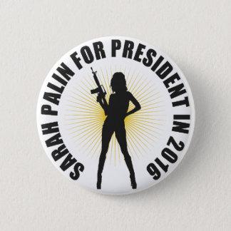 Sarah Palin 2016 Runder Button 5,7 Cm