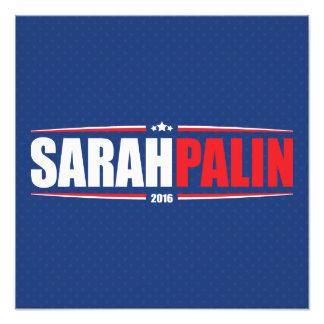 Sarah Palin 2016 (Sterne u. Streifen - Blau) Photodrucke