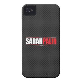 Sarah Palin 2016 (Sterne u. Streifen - Schwarzes) Case-Mate iPhone 4 Hülle