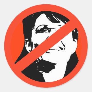 Sarah Palin 3 Runder Sticker