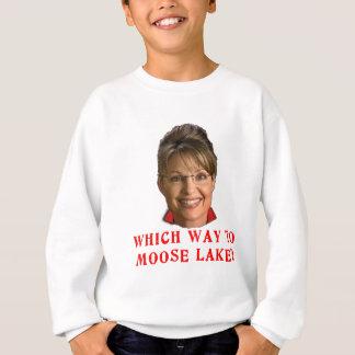 Sarah Palin die Weise zum Moose See-Spaß Sweatshirt
