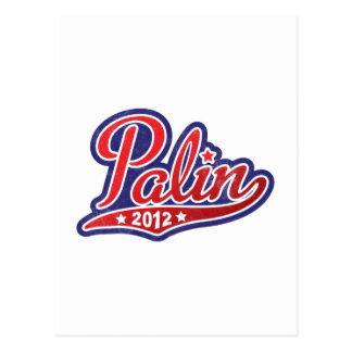 Sarah Palin für Präsidenten 2012 Postkarte