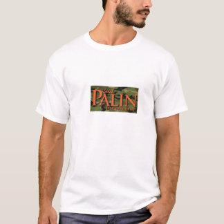 Sarah Palin für Präsidenten Camo Logo T-shirt