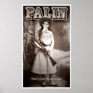 Sarah Palin, gibt es einen neuen Sheriff in der St Poster
