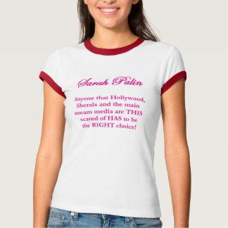Sarah Palin - Hollywood-Liberale u. MSM T - Shirt