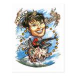 Sarah Palin, Königin von Schweinefleisch Postkarten