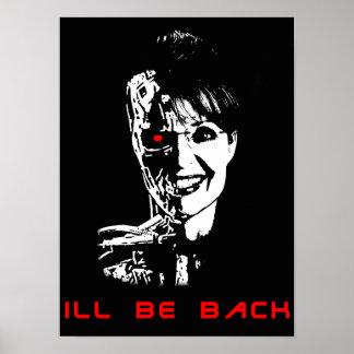 Sarah palin - Kranke ist zurück Poster