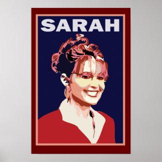 Sarah Palin - Präsident 2012 Poster