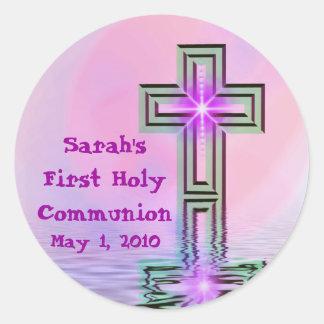 Sarahs erste heilige Kommunions-Aufkleber