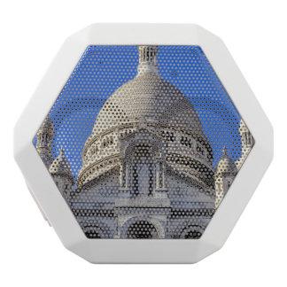 Sarcre Coeur Basilika in Paris, Frankreich Weiße Bluetooth Lautsprecher