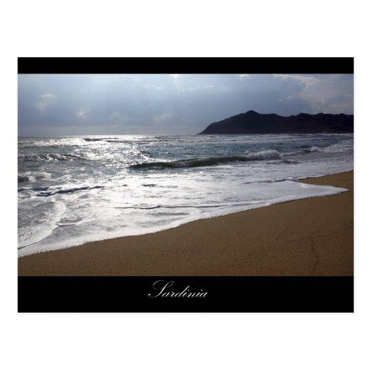 Sardinia Postkarte